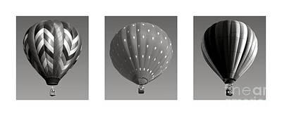 Photograph - The Art Of Ballooning Three by Olivier Le Queinec