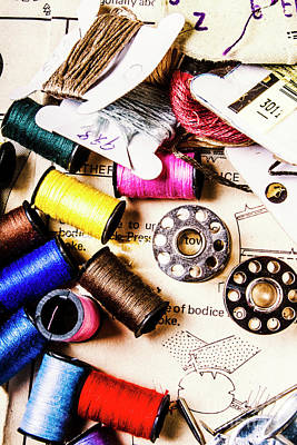 Sewing Photograph - The Art Of Craft by Jorgo Photography - Wall Art Gallery
