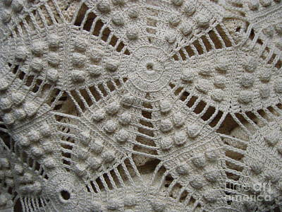 Photograph - The Art Of Crochet  by Kristine Nora