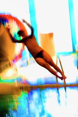 Bathing Digital Art - The Art Of Diving 1 by Jeff Breiman