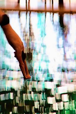Bathing Digital Art - The Art Of Diving 2 by Jeff Breiman