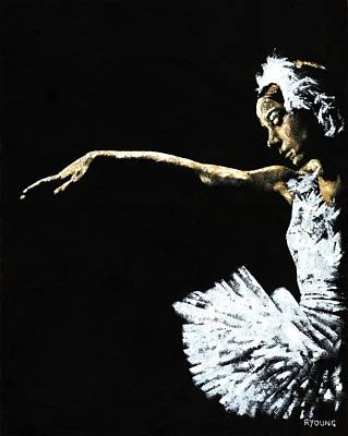 Ballerina Painting - The Art Of Grace by Richard Young