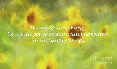 Photograph - The Art Of Happiness by Benanne Stiens