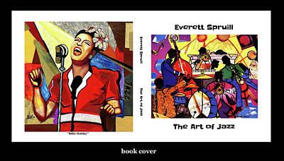 Wynton Marsalis Mixed Media - The Art Of Jazz - Cover by Everett Spruill