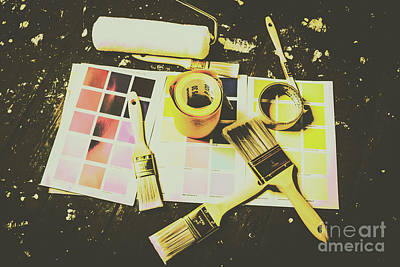 Paint Brushes Wall Art - Photograph - The Art Of Restoration by Jorgo Photography - Wall Art Gallery