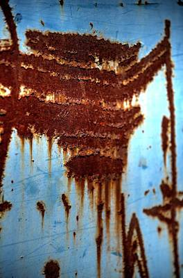 Photograph - The Art Of Rust by Jerry Sodorff