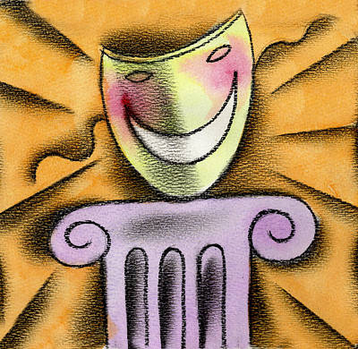The Art Of Smiling Original by Leon Zernitsky