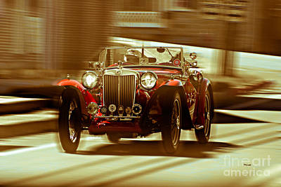 Sports Cars Photograph - The Art Of Streets  by Steven Digman