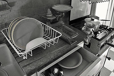 Photograph - The Art Of Welfare. Kitchen Cupboards. by Elena Perelman