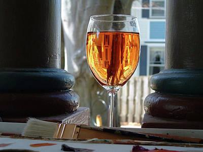 The Art Of Wine Art Print