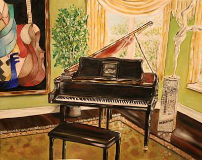 The Art Room Art Print by Dyanne Parker