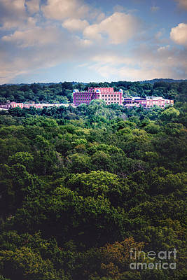 Photograph - The Artesian Hotel In The Forest In Vertical by Tamyra Ayles