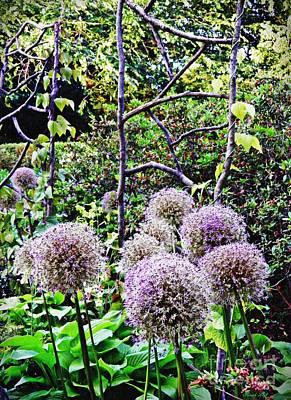 Photograph - The Artful Garden by Sarah Loft
