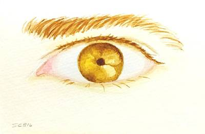 Corrected Painting - The Artist's Eye by Stacy C Bottoms