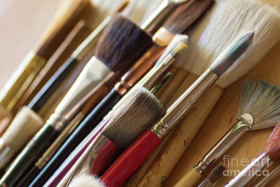 Painter Photograph - The Artist's Studio by Ana V Ramirez