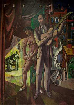 African-american Painting - The Arts by Millard Owen Sheets