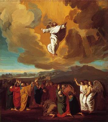 Painting - The Ascension 1775 by Copley John Singleton