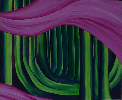 Painting - The Ash Grove  by Susan M Woods