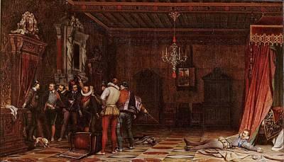 The Assassination Of The Duc De Guise Art Print