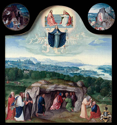 Painting - The Assumption Of The Virgin by Joachim Patinir