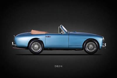 Photograph - The Aston Db2-4 by Mark Rogan