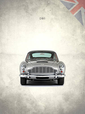 Aston Martin Photograph - The Aston Martin Db5 by Mark Rogan