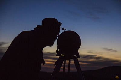 Observer Photograph - The Astronomer by John Meader