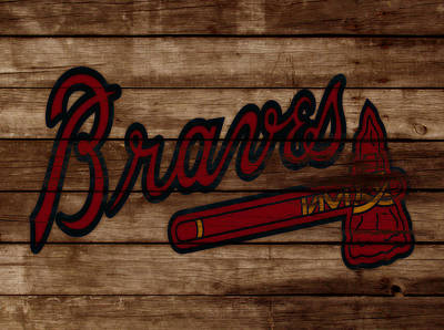 The Atlanta Braves 3b     Art Print by Brian Reaves