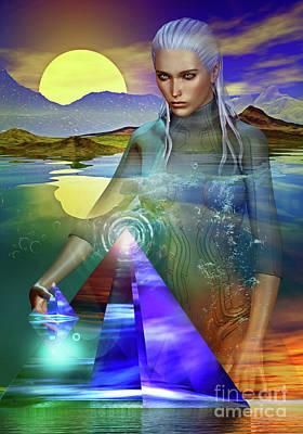 Digital Art - The Atlantean by Shadowlea Is