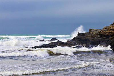 Photograph - The Atlantic Ocean by Terri Waters