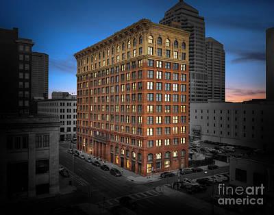The Atlas Building Columbus Ohio Art Print by Brian Mollenkopf
