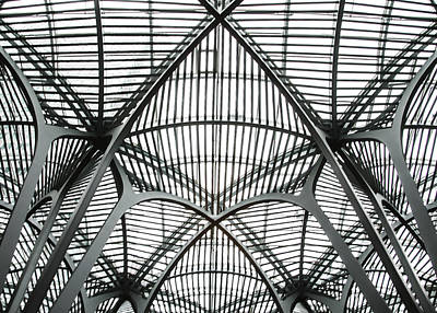 Street Hockey Photograph - The Atrium At Brookfield Place - Toronto  Ontario Canada by Bill Cannon