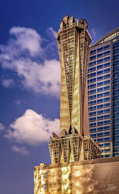 Photograph - The Att Tower by Endre Balogh