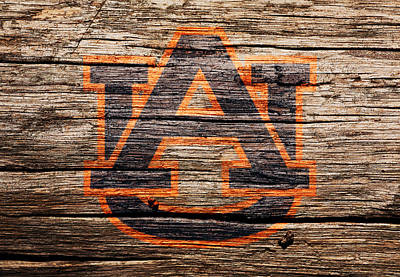 The Auburn Tigers 1a Art Print
