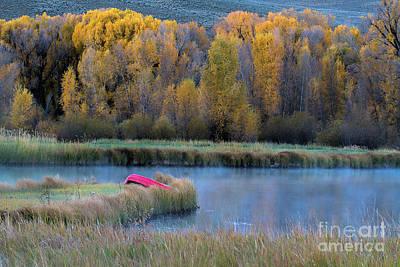 Photograph - The Autumn Banks by Jim Garrison