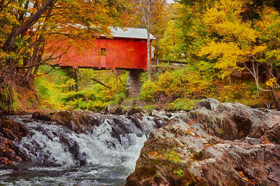 Fall Photograph - The Autumn Colors Arrive by Jeff Folger