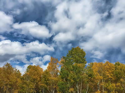 Photograph - The Autumn Sky 2 by Jonathan Nguyen
