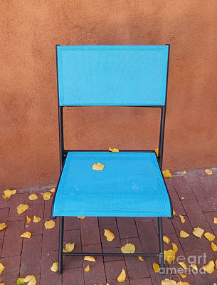The Autumn Welcoming Chair				 Art Print