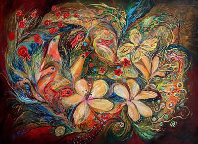 The Autumn Wind Art Print by Elena Kotliarker