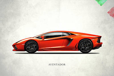 Transport Photograph - The Aventador by Mark Rogan