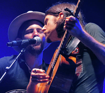 Photograph - The Avett Brothers 03 by Julie Turner