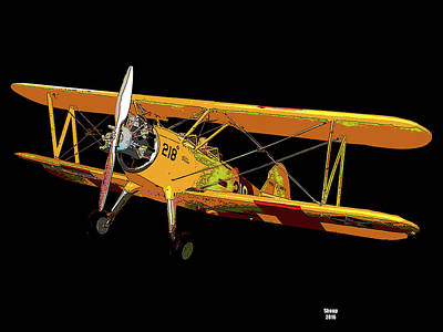 The Aviator Art Print by Charles Shoup