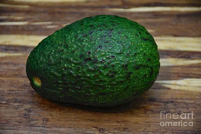 Photograph - The Avocado by Ray Shrewsberry