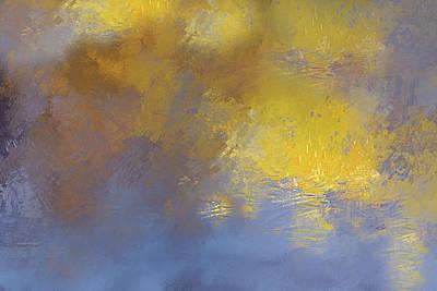 Mixed Media - The Awakening Of Dawn Abstract by Georgiana Romanovna