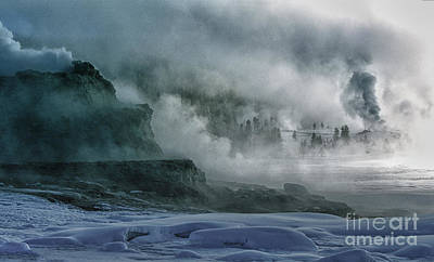 Photograph - The Awe Of Yellowstone by Sandra Bronstein