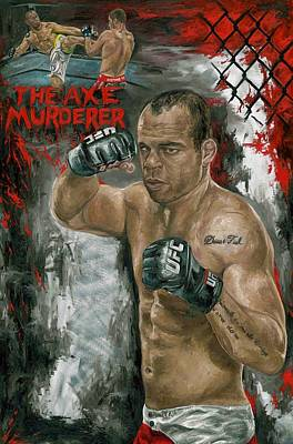 The Axe Murderer Art Print by David Courson