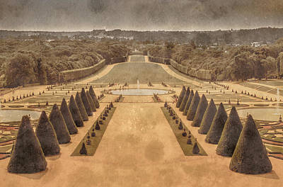 Photograph - Sceaux, France - The Axis by Mark Forte