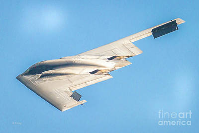 Photograph - The B-2 Spirit Bomber By Northrop Grumman by Rene Triay Photography