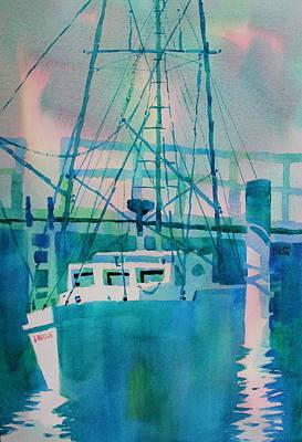 The B Phyllis At Fishermans Wharf Art Print