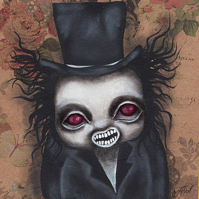 Painting - The Babadook by Abril Andrade Griffith